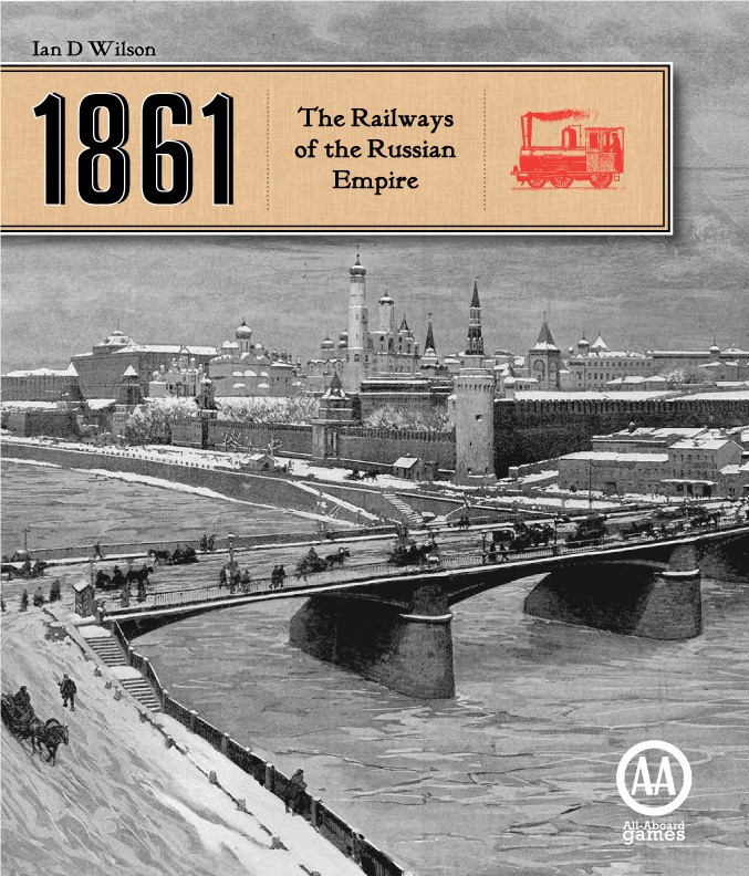Imagen de juego de mesa: «1861: The Railways of the Russian Empire»