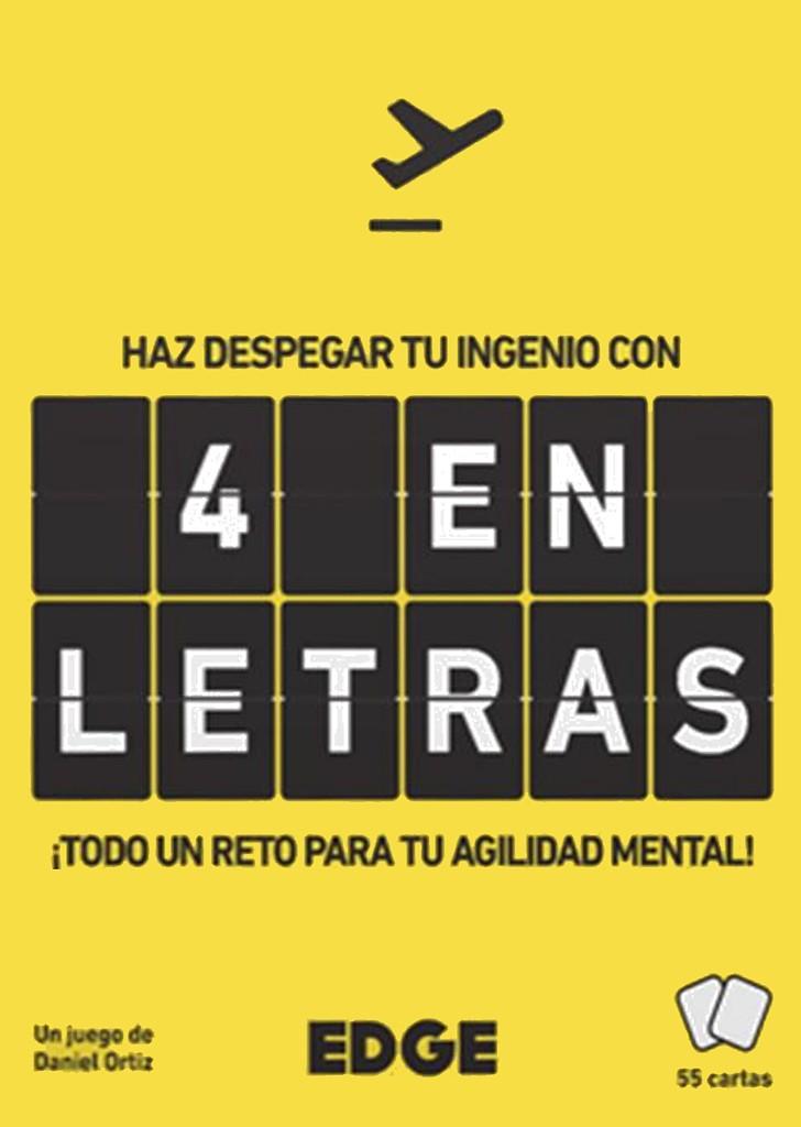 4 En Letras Juego De Mesa Ludonauta Es