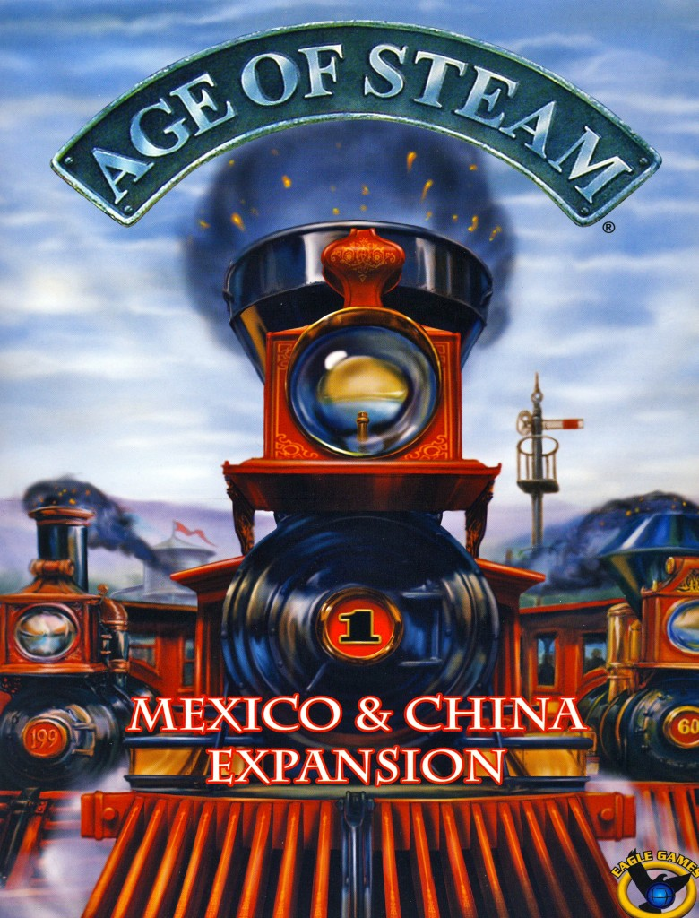 Imagen de juego de mesa: «Age of Steam Expansion: Mexico & China»