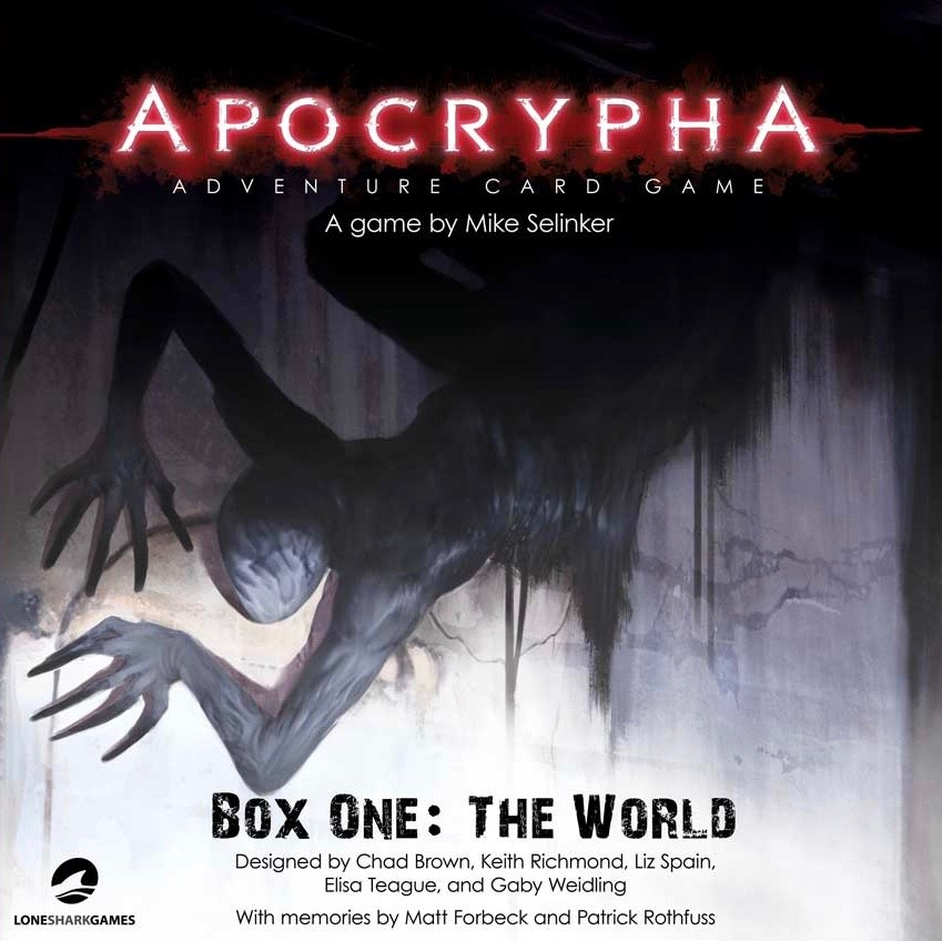 Imagen de juego de mesa: «Apocrypha Adventure Card Game: Box One – The World»