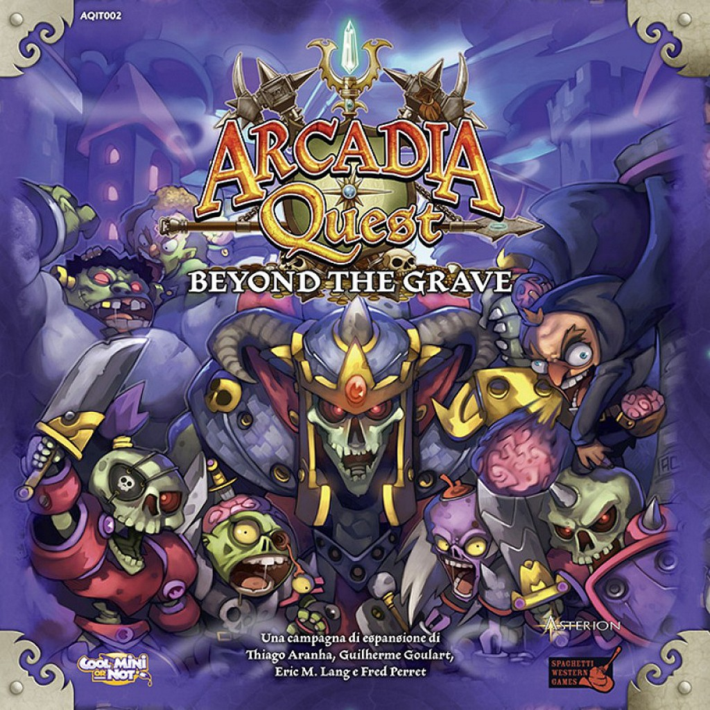 Arcadia Quest Mas Alla De La Tumba Juego De Mesa Ludonauta Es