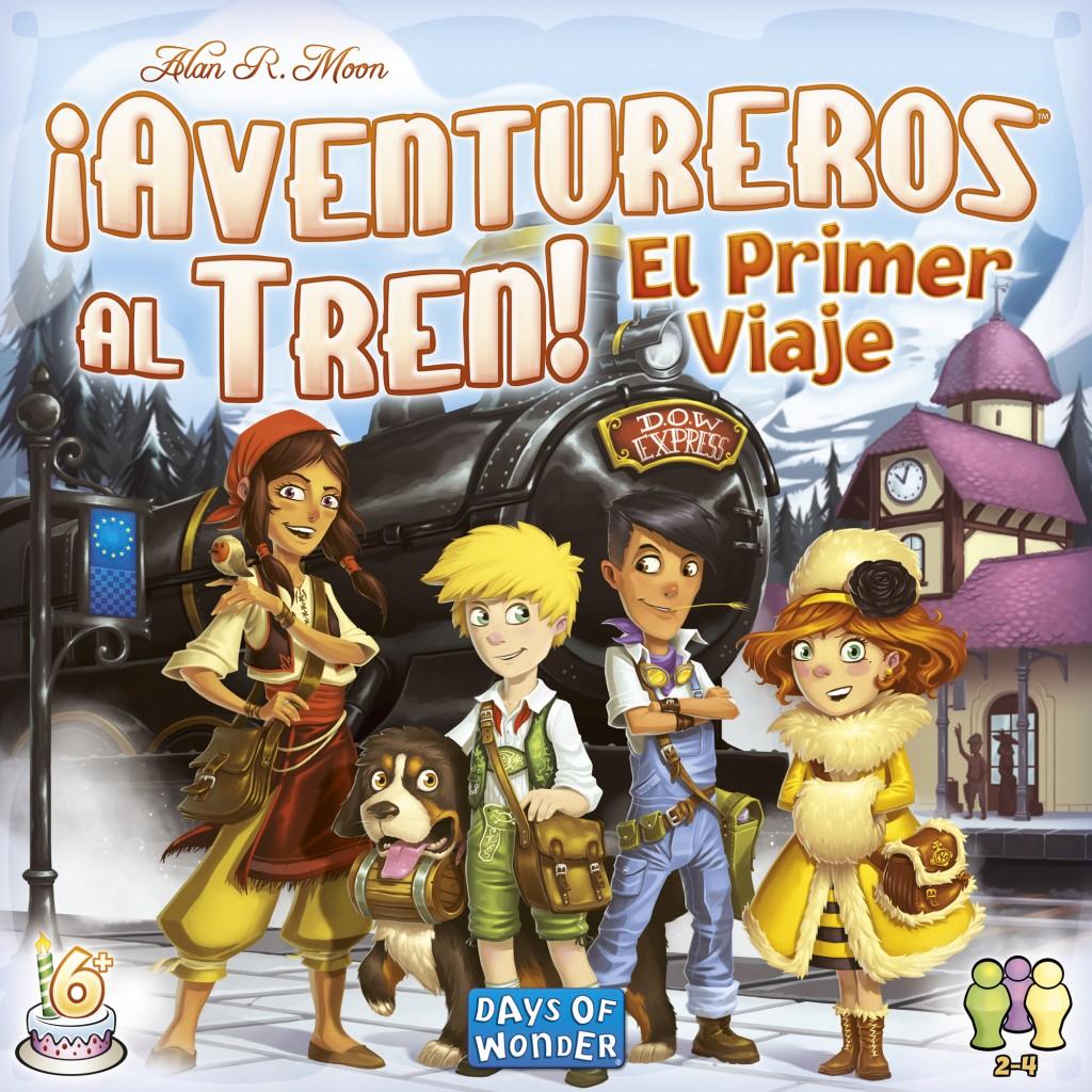 Aventureros Al Tren El Primer Viaje Juego De Mesa Ludonauta Es