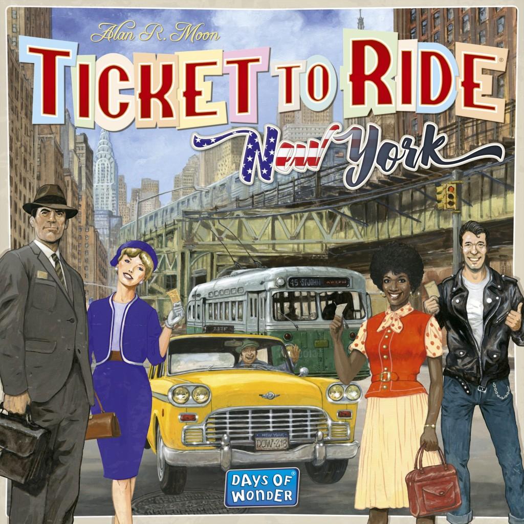 Aventureros al tren! Nueva York ~ Juego de mesa • Ludonauta.es dab0fdba0be
