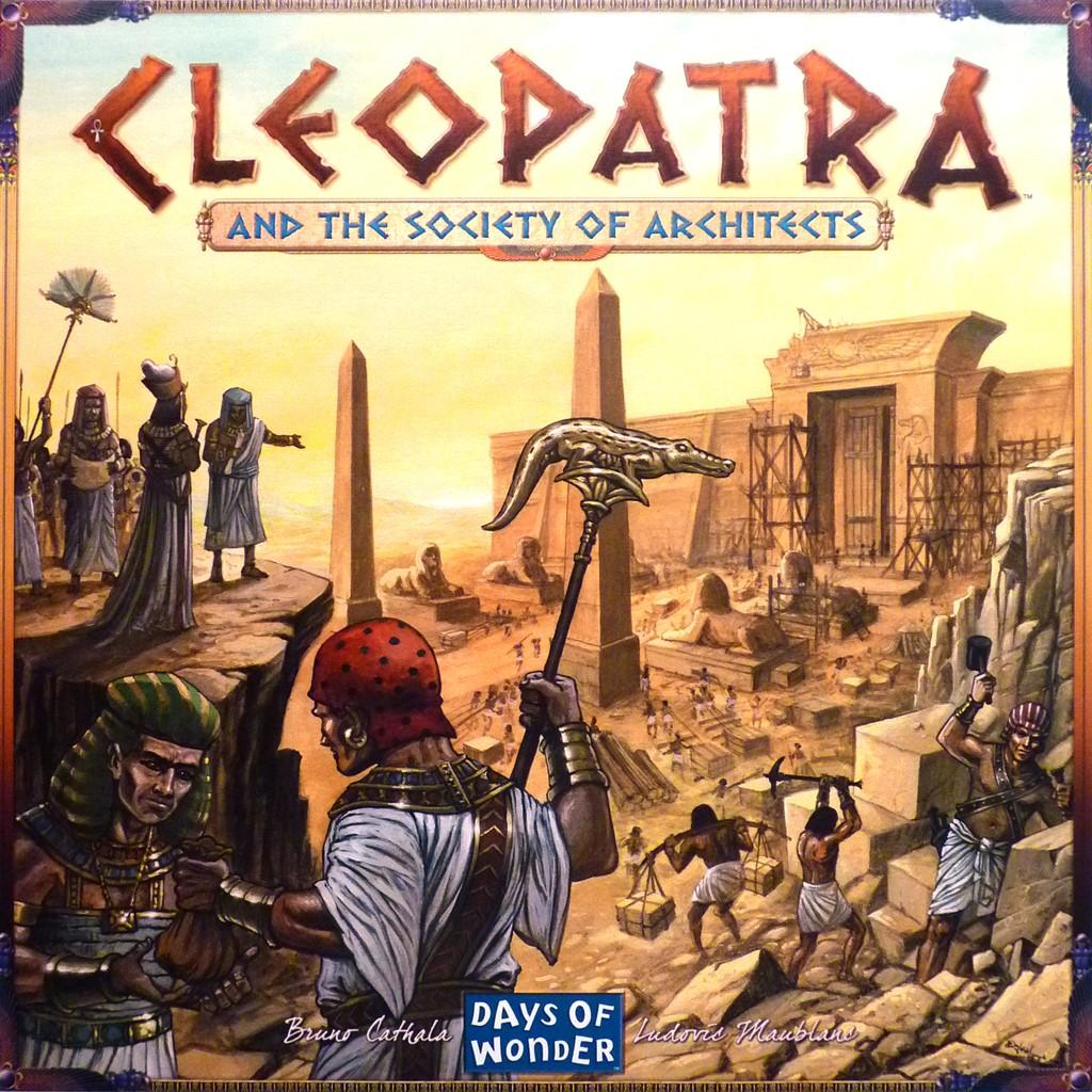Cleopatra y la sociedad de arquitectos juego de mesa - Sociedad de arquitectos ...