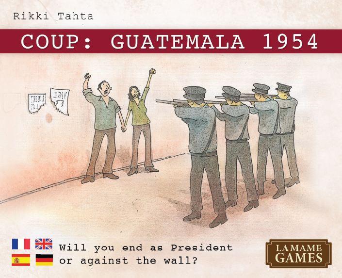 Coup Guatemala 1954 Juego De Mesa Ludonauta Es