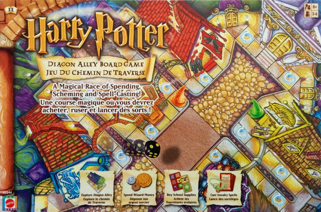 Harry Potter Diagon Alley Board Game Juego De Mesa Ludonauta Es