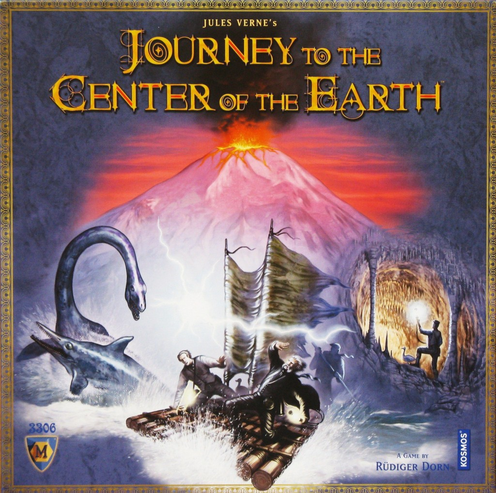 Imagen de juego de mesa: «Journey to the Center of the Earth»