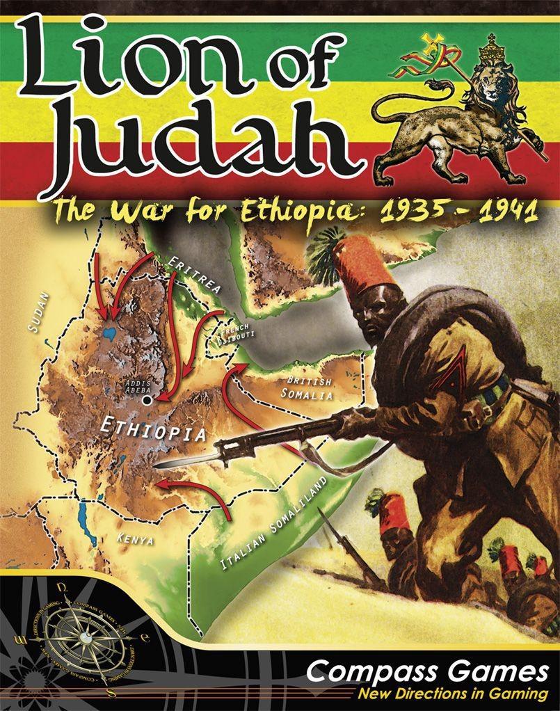 Lion of Judah: The War for Ethiopia, 1935-1941 ~ Juego de mesa • Ludonauta.es