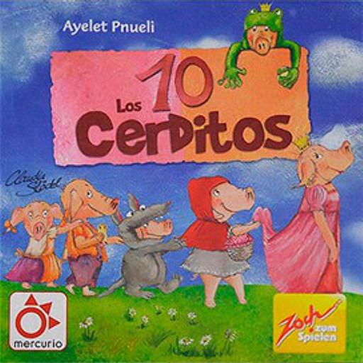 Los 10 cerditos ~ Juego de mesa • Ludonauta.es