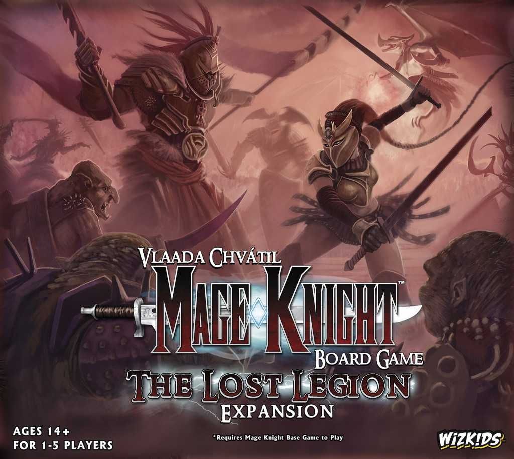 Imagen de juego de mesa: «Mage Knight Board Game: The Lost Legion»