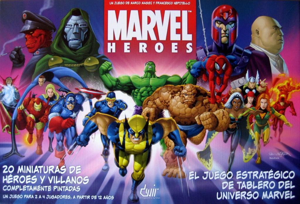 Marvel Heroes Juego De Mesa Ludonauta Es