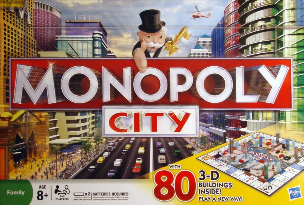 Monopoly City Juego De Mesa Ludonauta Es