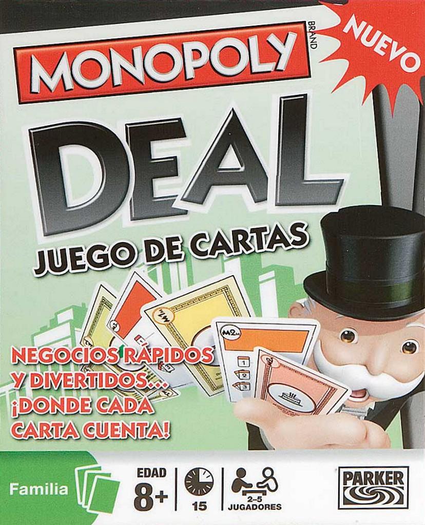 Monopoly Deal Juego De Cartas Juego De Mesa Ludonauta Es
