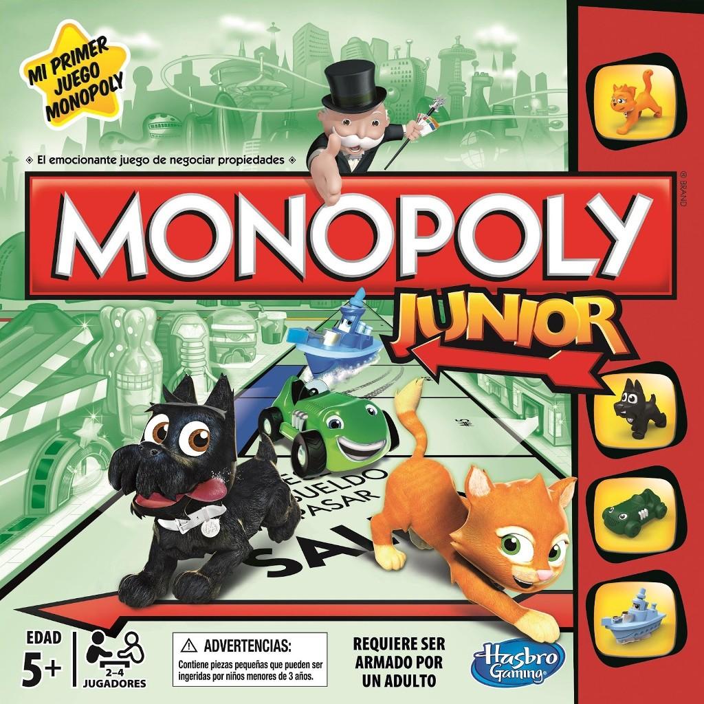 Monopoly Junior Juego De Mesa Ludonauta Es