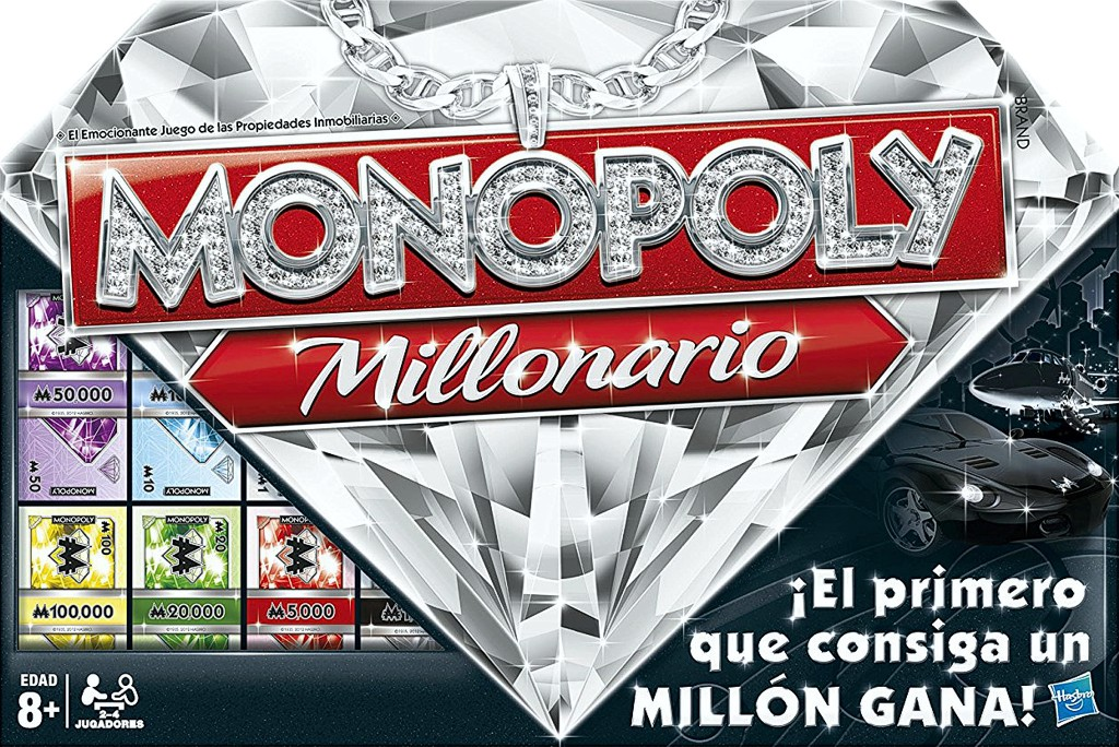 Monopoly Millonario Juego De Mesa Ludonauta Es