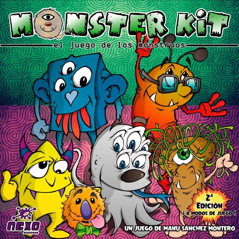 Monster Kit Juego De Mesa Ludonauta Es