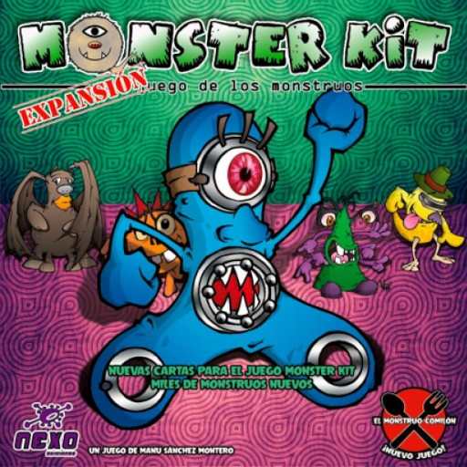 Monster Kit Expansion Juego De Mesa Ludonauta Es