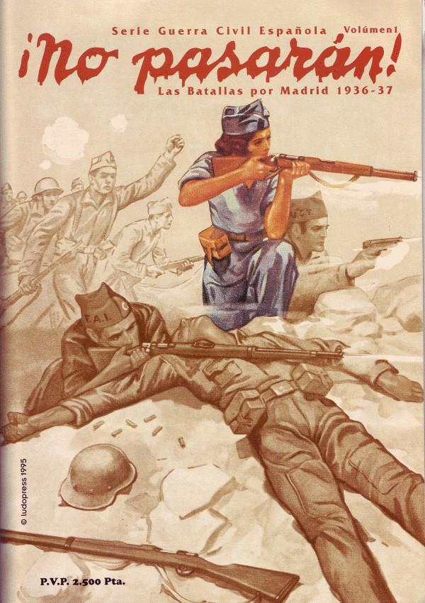 No Pasaran Las Batallas Por Madrid 1936 37 Juego De Mesa