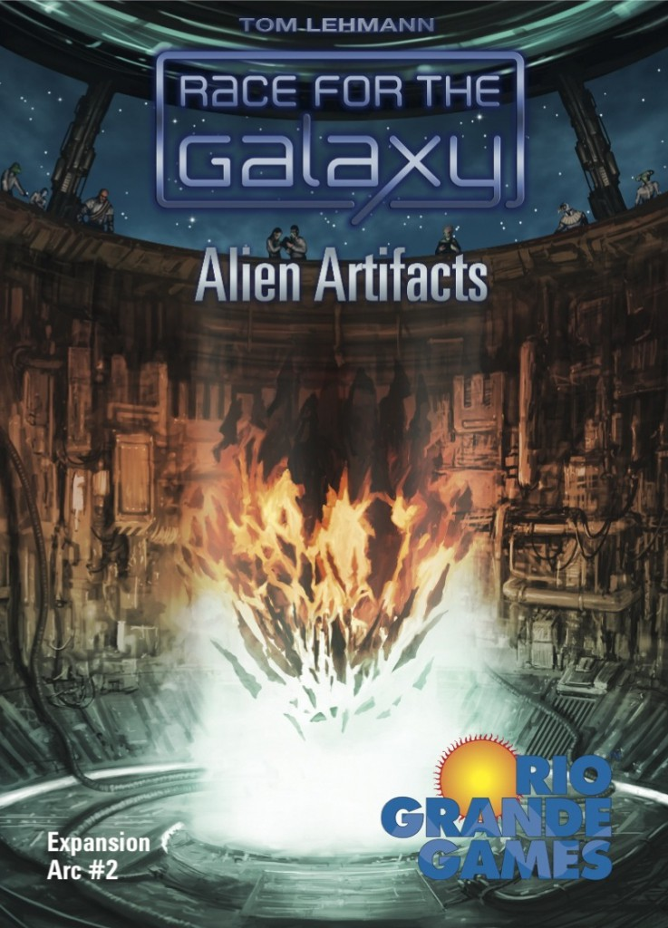 Imagen de juego de mesa: «Race for the Galaxy: Alien Artifacts»