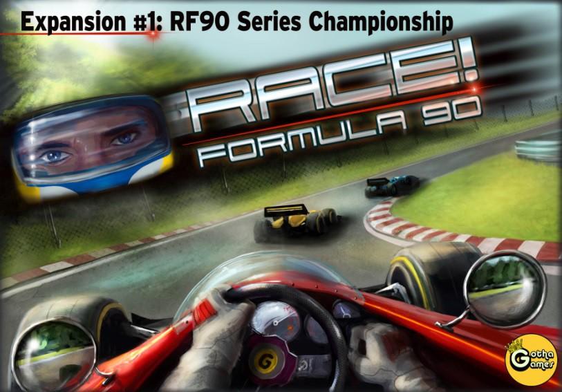Race Formula 90 Expansion 1 Rf90 Series Championship Juego De