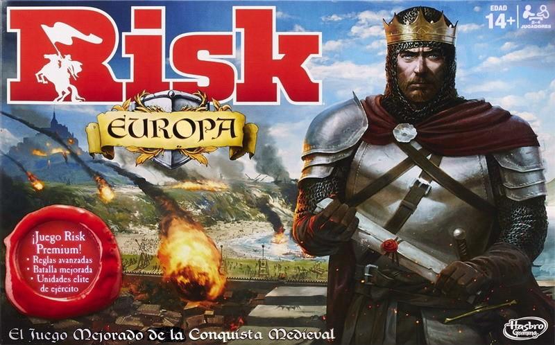 Risk Europa Juego De Mesa Ludonauta Es