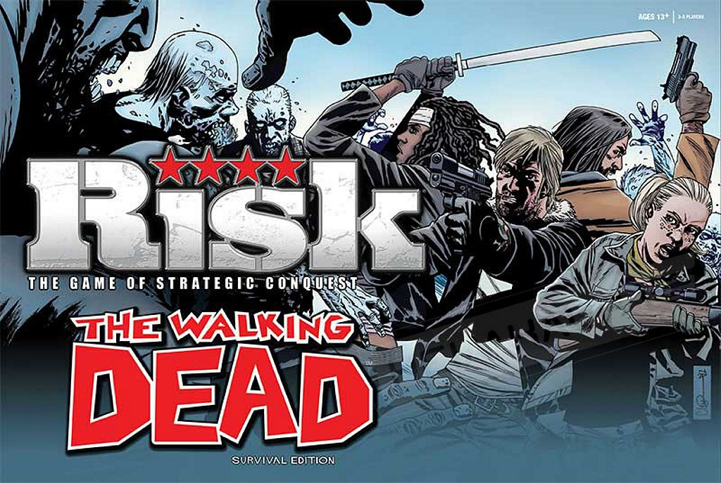 Risk The Walking Dead Edicion Supervivencia Juego De Mesa