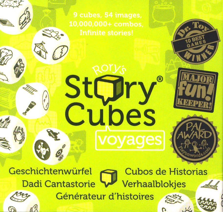 Rory S Story Cubes Viajes Juego De Mesa Ludonauta Es