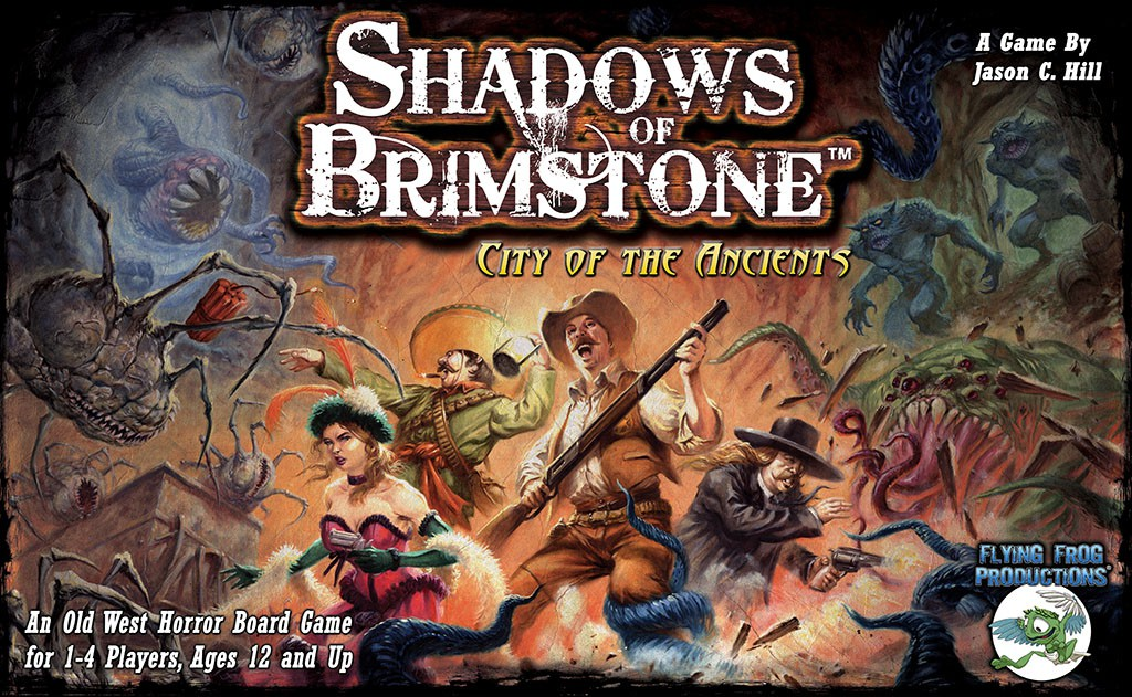 Imagen de juego de mesa: «Shadows of Brimstone: City of the Ancients»