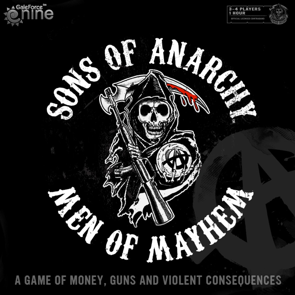 Imagen de juego de mesa: «Sons of Anarchy: Men of Mayhem»