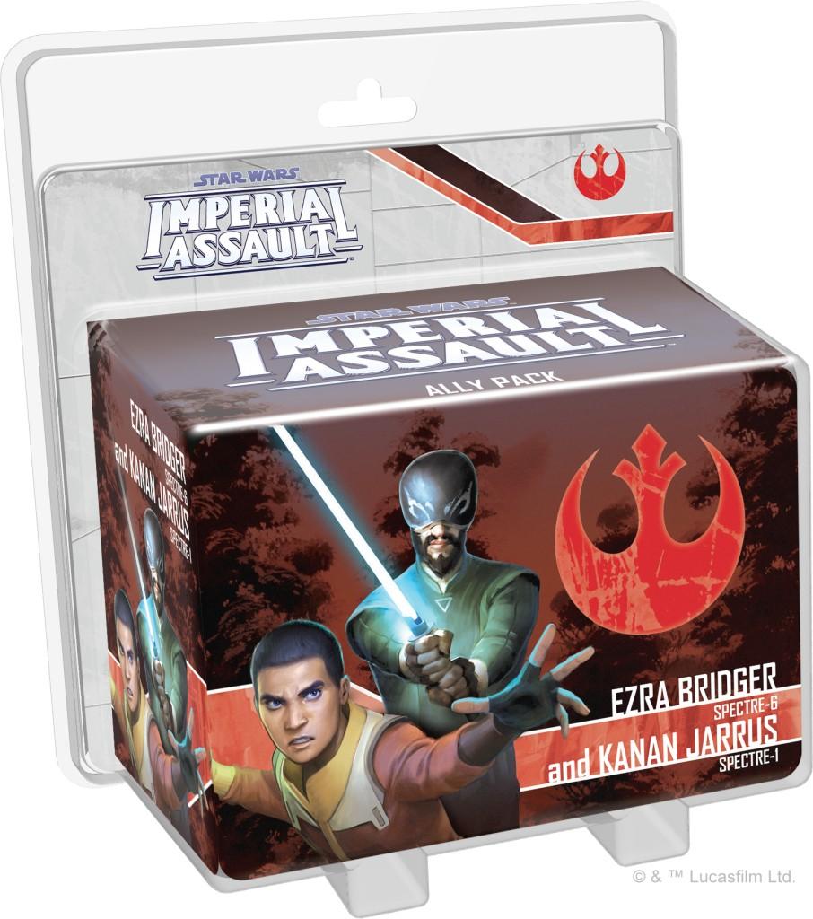 Star Wars: Imperial Assault - Ezra Bridger y Kanan Jarrus ...