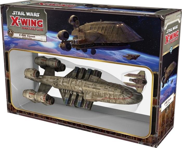 Star Wars X Wing Crucero C Roc Juego De Mesa Ludonauta Es