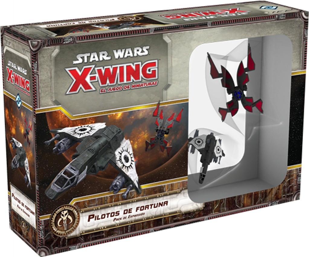 Star Wars X Wing Pilotos De Fortuna Juego De Mesa Ludonauta Es