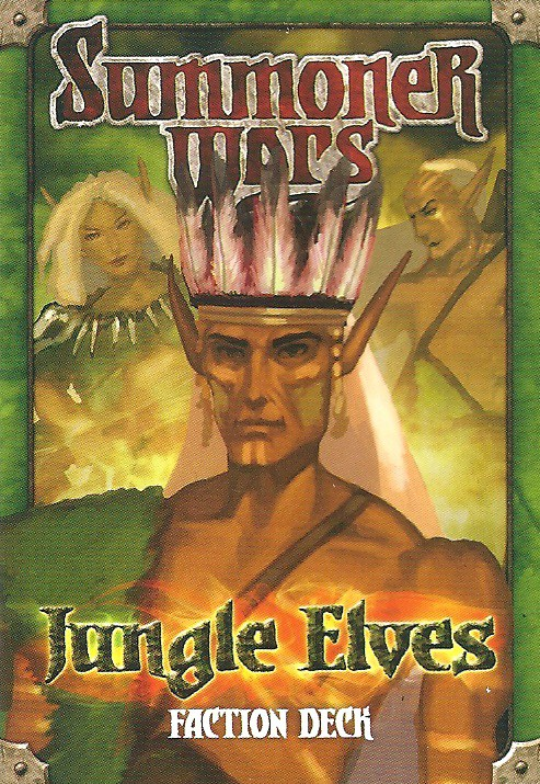 Imagen de juego de mesa: «Summoner Wars: Jungle Elves Faction Deck»
