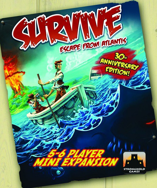 Imagen de juego de mesa: «Survive: Escape from Atlantis! 5-6 Player Mini Expansion»
