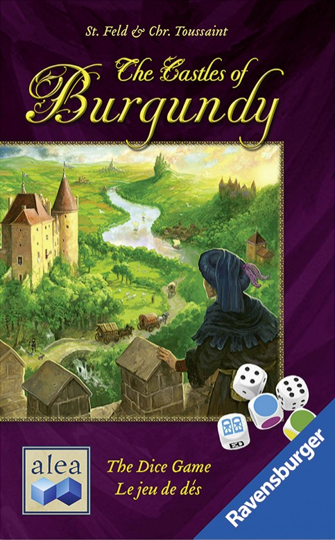 Imagen de juego de mesa: «The Castles of Burgundy: The Dice Game»