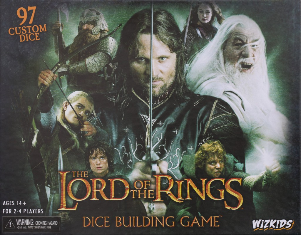Imagen de juego de mesa: «The Lord of the Rings Dice Building Game»