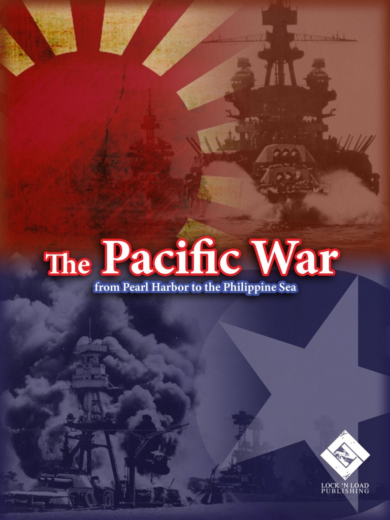 Imagen de juego de mesa: «The Pacific War: From Pearl Harbor to the Philippines»