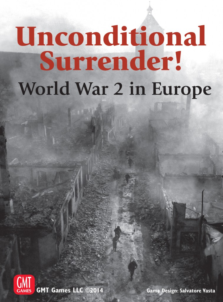 Imagen de juego de mesa: «Unconditional Surrender! World War 2 in Europe»