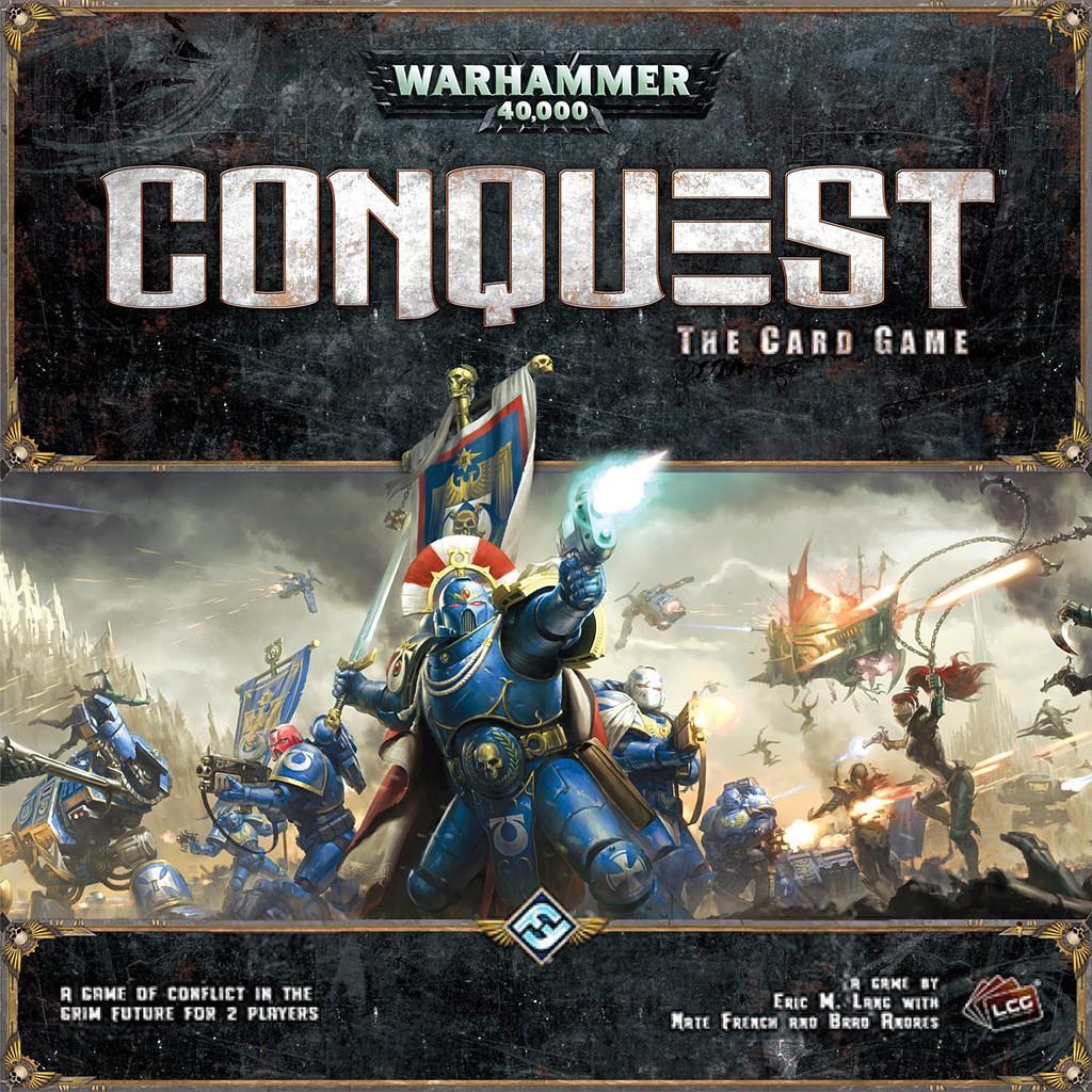 Warhammer 40 000 Conquest Juego De Mesa Ludonauta Es