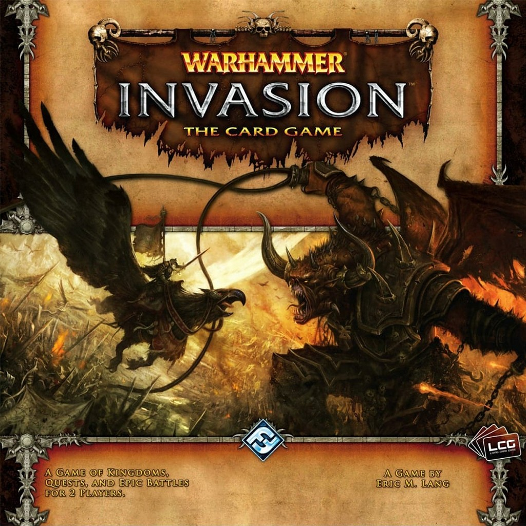 Warhammer Invasion Juego De Mesa Ludonauta Es