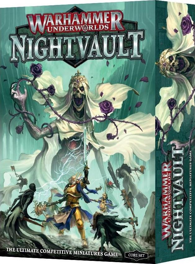 Warhammer Underworlds Nightvault Juego De Mesa Ludonauta Es