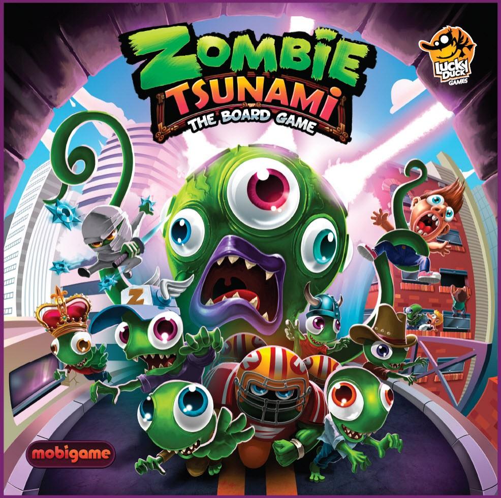 Zombie Tsunami Juego De Mesa Ludonauta Es