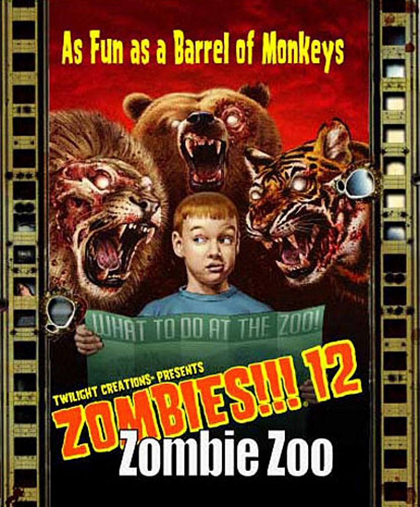 Zombies 12 Zoologico Zombie Juego De Mesa Ludonauta Es